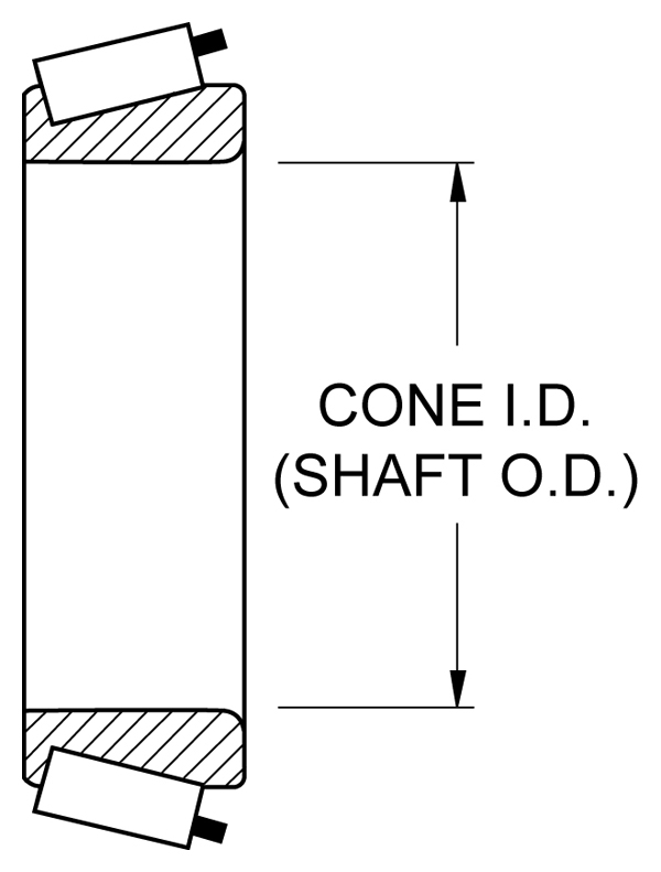 Bearing - Cone Drawing