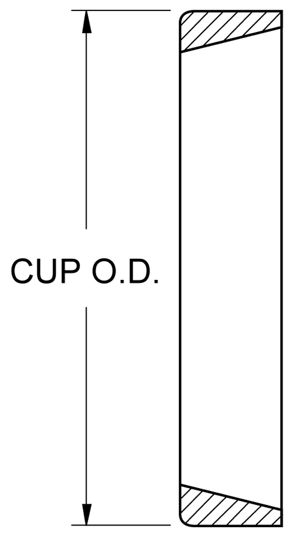 Bearing - Race (Cup) Drawing