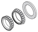 Wide 5 Inner / Outer Bearing & Seal Kit Drawing