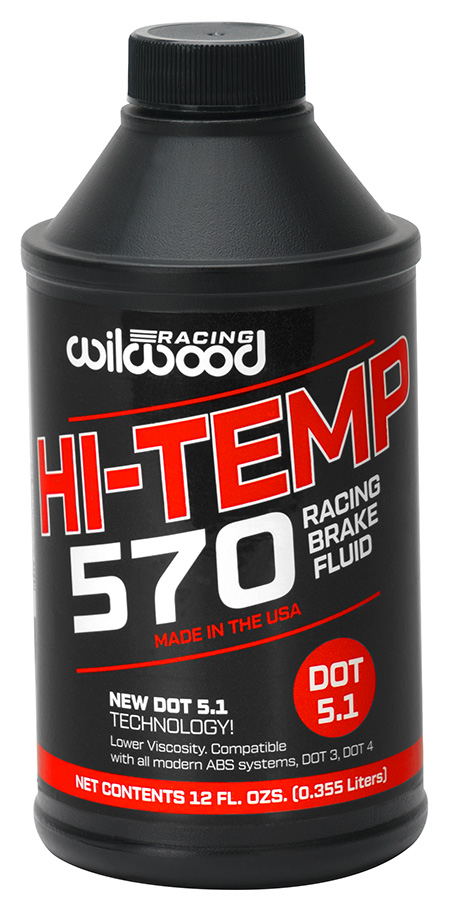 BRAKE FLUID, HI-TEMP 570, 573/313, 1-12 OZ
