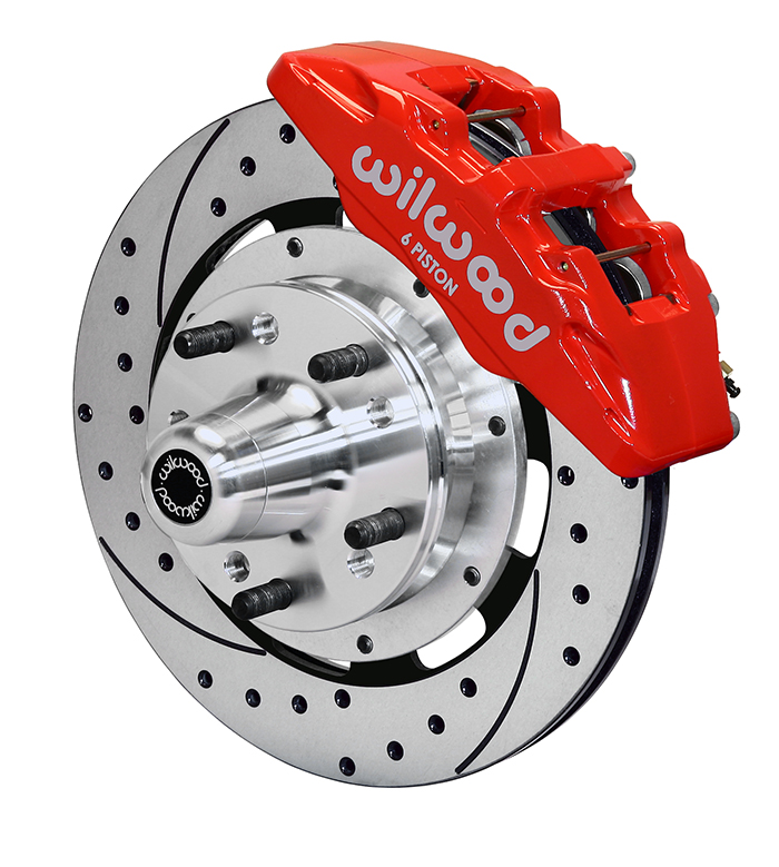 Forged Dynapro 6 Big Brake Front Brake Kit (Hub)