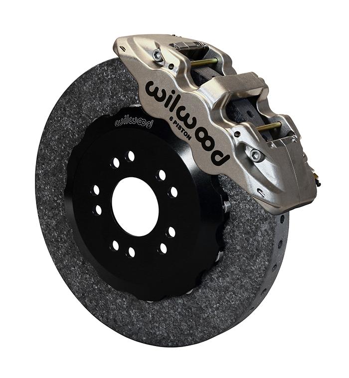 Wilwood High Performance Disc Brakes Aero6 Wccb Carbon
