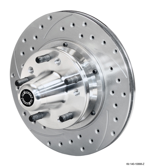 Wilwood Front Hub Kit (6 Bolt Rotor) - SRP Drilled & Slotted Rotor