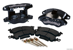 Wilwood D52 Front Caliper Kit - Black Powder Coat Caliper