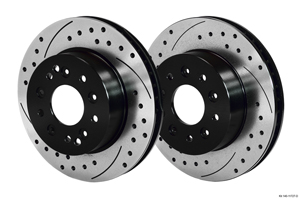 Wilwood Promatrix Front and Rear Replacement Rotor Kit - SRP Drilled & Slotted Rotor