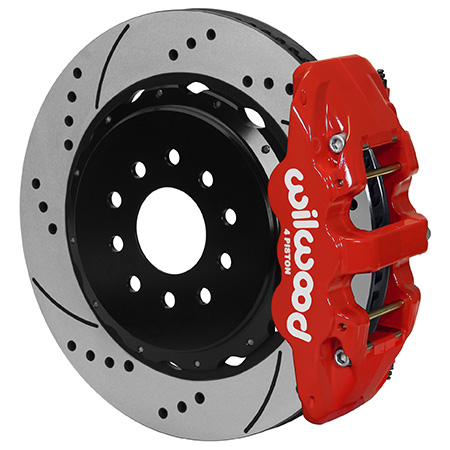 W4A Big Brake Rear Brake Kit For OE Parking Brake