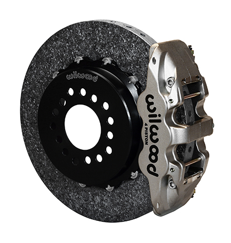 AERO4 WCCB Carbon-Ceramic Big Brake Rear Parking Brake Kit