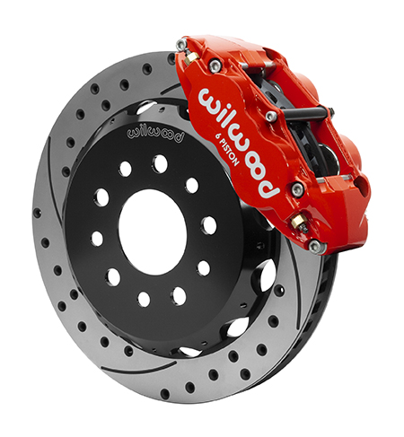 Forged Narrow Superlite 6R Big Brake Front Brake Kit (Hat)