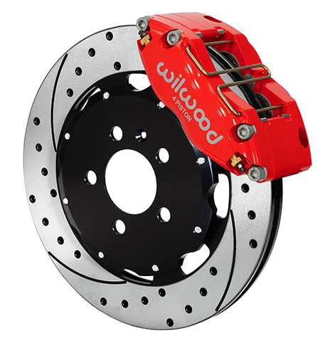 Dynapro Radial Big Brake Front Brake Kit (Hat)