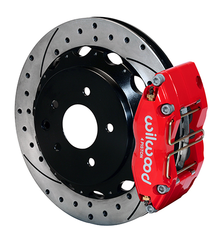 Dynapro Radial Rear Brake Kit For OE Parking Brake