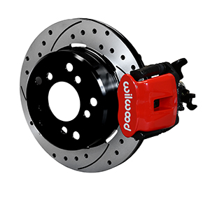 Combination Parking Brake Caliper 1Pc Rotor Rear Brake Kit