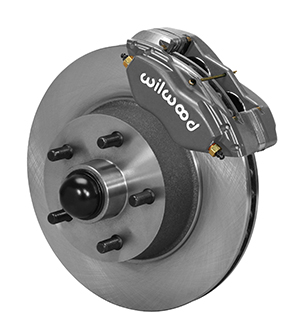 Wilwood Classic Series Dynalite Front Brake Kit - Type III Ano Caliper - Plain Face Rotor