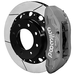 Wilwood TX6R Big Brake Truck Rear Brake Kit - Type III Ano Caliper - GT Slotted Rotor
