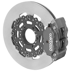 Wilwood Billet Narrow Dynalite Radial Mount Sprint Inboard Brake Kit - Type III Ano Caliper - Plain Face Rotor
