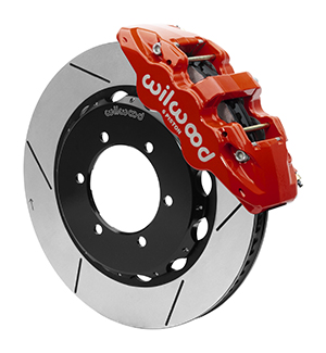 For 1994-1996 Acura Integra Front Red Calipers+Black D//S Brake Rotors+Pads+HD