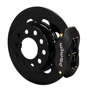 Wilwood Forged Dynalite Rear Drag Brake Kit - Type III Ano Caliper - Plain Face Rotor