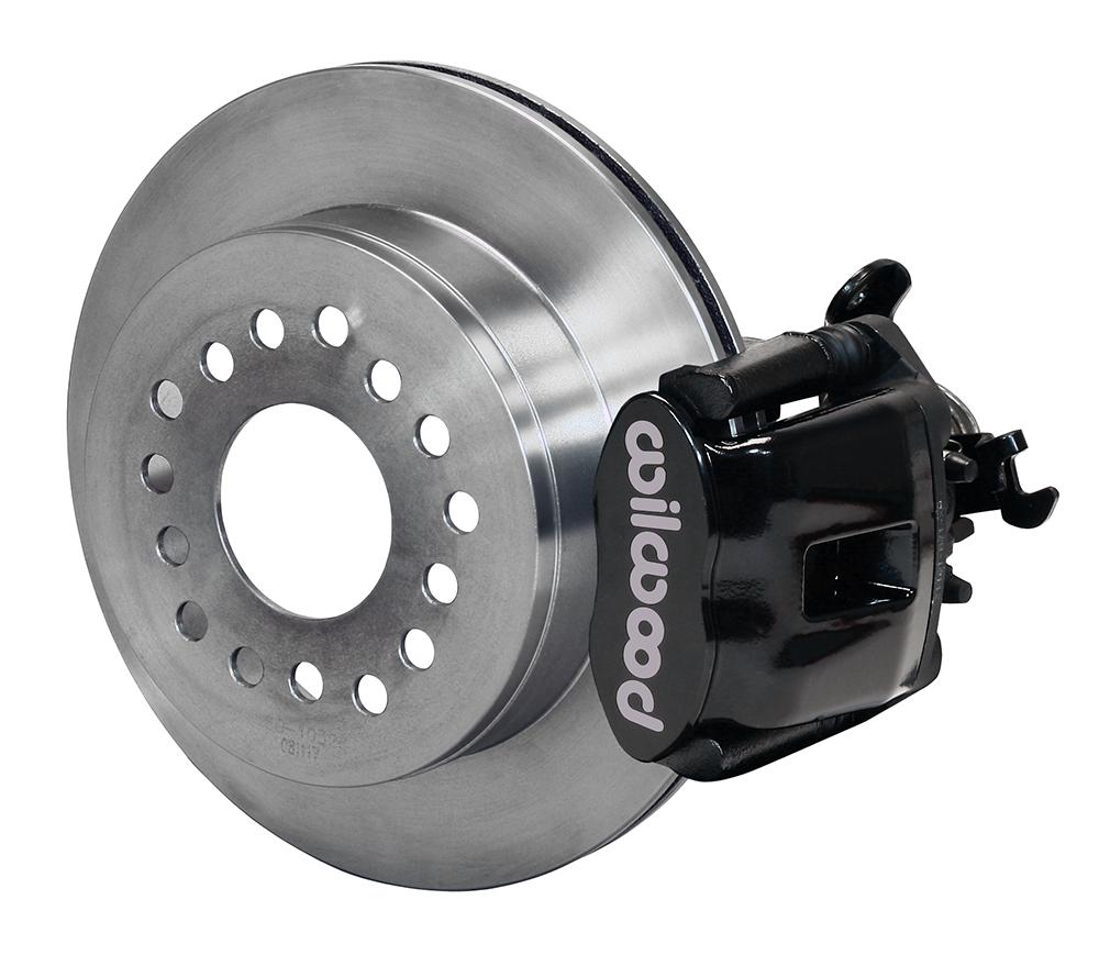 Wilwood Disc Brakes Rear Brake Kit Part No 140 10329 Caliper Components And Parts Diagram Car Combination Parking 1pc Rotor Black Powder Coat