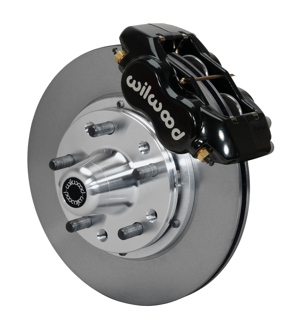 Wilwood 140-11071 Forged Dynalite Pro Series Front Brake Kit for non ABS spindle