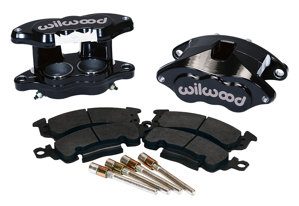 Wilwood 140-11291-BK  D52 Front Caliper Kit  bolt-on replacement for OE caliper