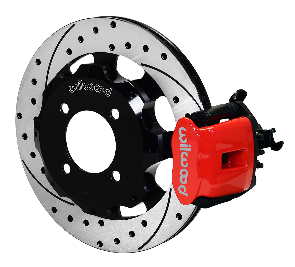 Wilwood Disc Brakes 2014 Ford Fiesta S Rear Brake Kit No 140