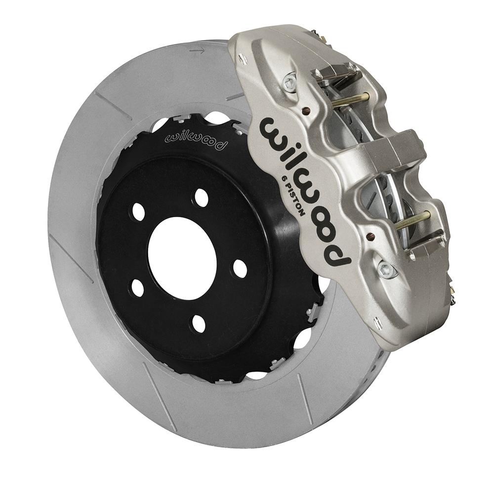 Wilwood Aero Big Brake Front Brake Kit Race Nickel Plate Caliper Gt