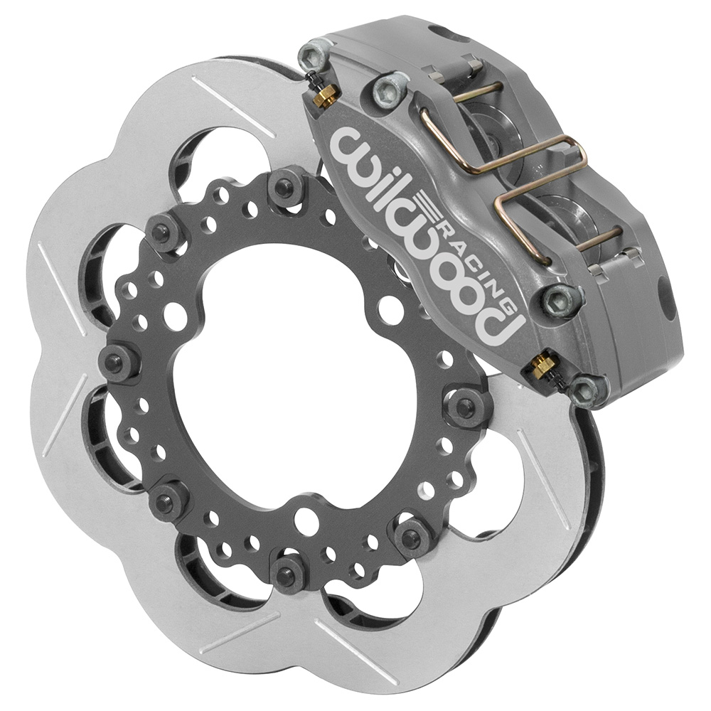 Wilwood Dynapro Radial Front Sprint Brake Kit - Type III Ano Caliper - Slotted Rotor