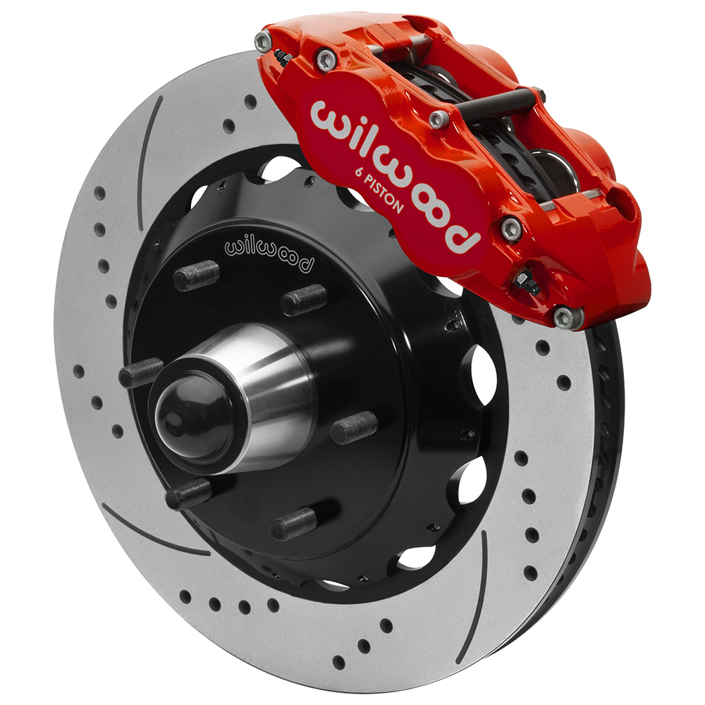 Wilwood Forged Narrow Superlite 6R Big Brake Front Brake Kit (6 x 5.50 Hub)