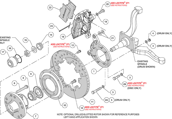 ds713_IPB lg wilwood high performance disc brakes 1971 ford mustang disc mustang front suspension diagram at bayanpartner.co