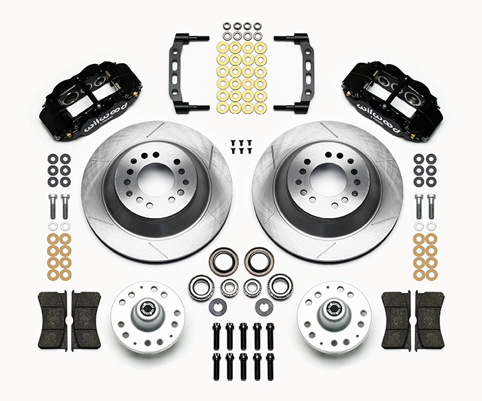 Forged Narrow Superlite 6R Big Brake Front Brake Kit (Hub and 1PC Rotor) Parts