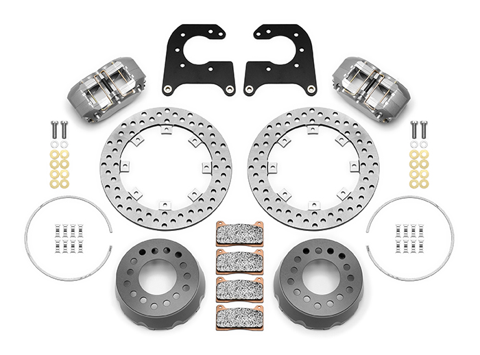 Dynapro SA Lug Drive Dynamic Rear Drag Brake Kit Parts