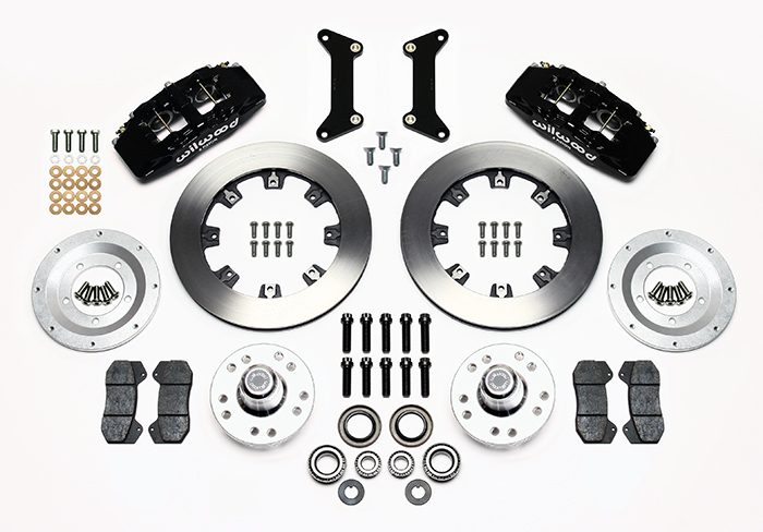 Forged Dynapro 6 Big Brake Front Brake Kit (Hub) Parts