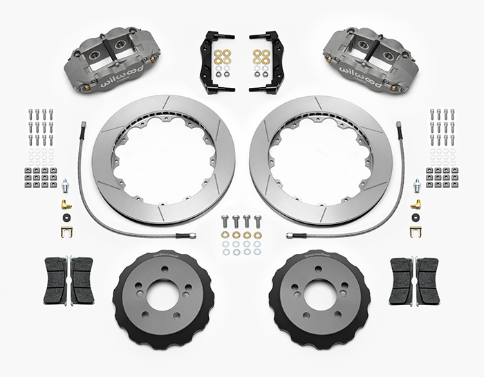 Forged Narrow Superlite 4R Big Brake Rear Brake Kit (Race) Parts