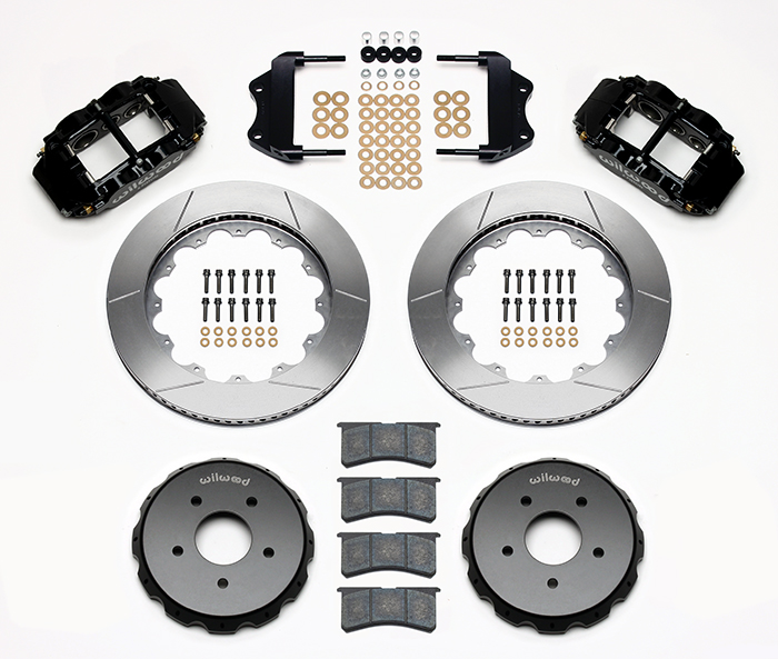 Forged Narrow Superlite 6R Dust-Seal Big Brake Front Brake Kit (Hat) Parts