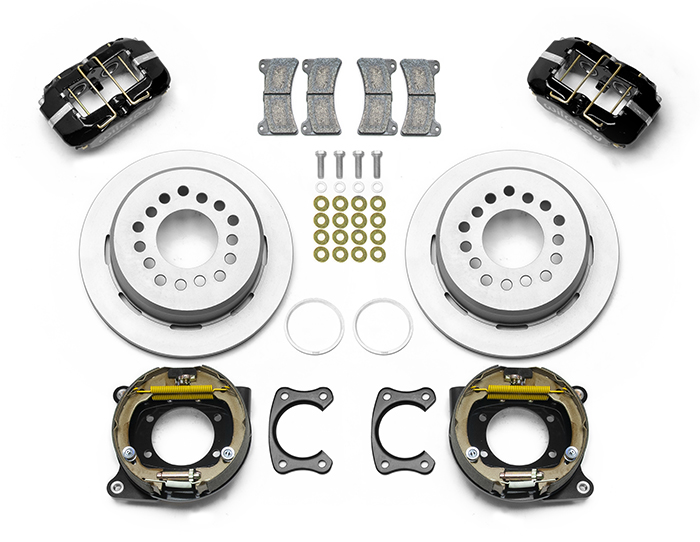 Forged Dynapro Low-Profile Dust Seal Rear Parking Brake Kit Parts
