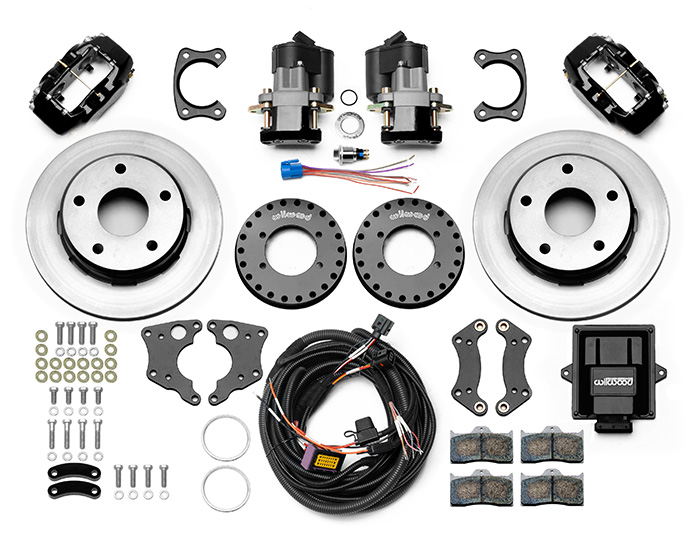 Forged Dynalite Rear Electronic Parking Brake Kit Parts