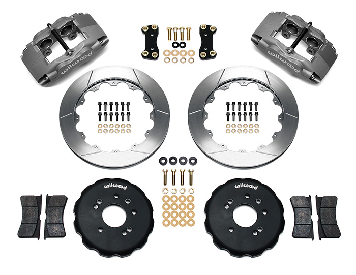 Forged Superlite 4 Big Brake Front Brake Kit (Hat) Parts