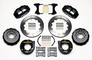 Forged Narrow Superlite 4R Big Brake Rear Parking Brake Kit Parts