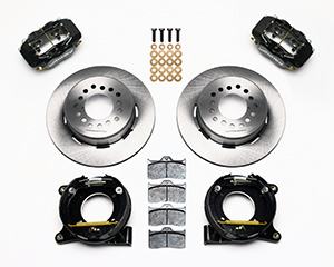 Forged Dynalite Rear Parking Brake Kit Parts