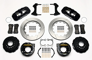W4A Big Brake Rear Parking Brake Kit Parts