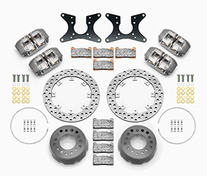 Dynapro Dual SA Lug Drive Dynamic Rear Drag Brake Kit Parts