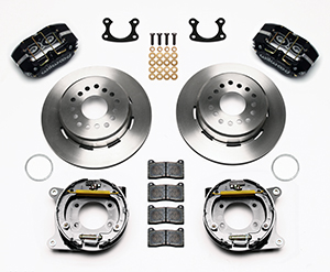 Dynapro Dust-Boot Rear Parking Brake Kit Parts