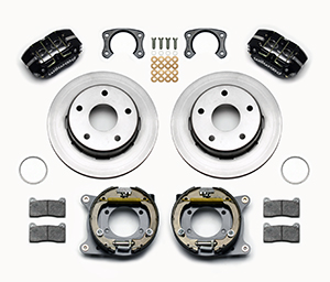 Dynapro Lug Mount Rear Parking Brake Kit Parts