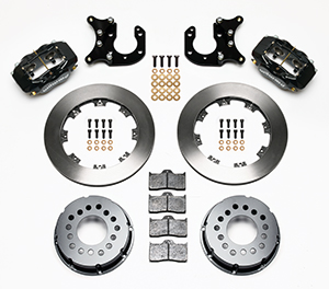 Forged Dynalite Pro Series Rear Brake Kit Parts