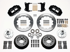 Forged Narrow Superlite 6R Big Brake Front Brake Kit (Hub) Parts