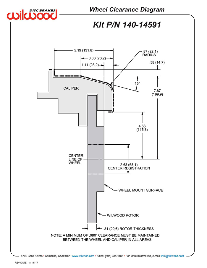 wheel clearance diagram � zoom image