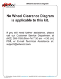 Wheel Clearance Diagram