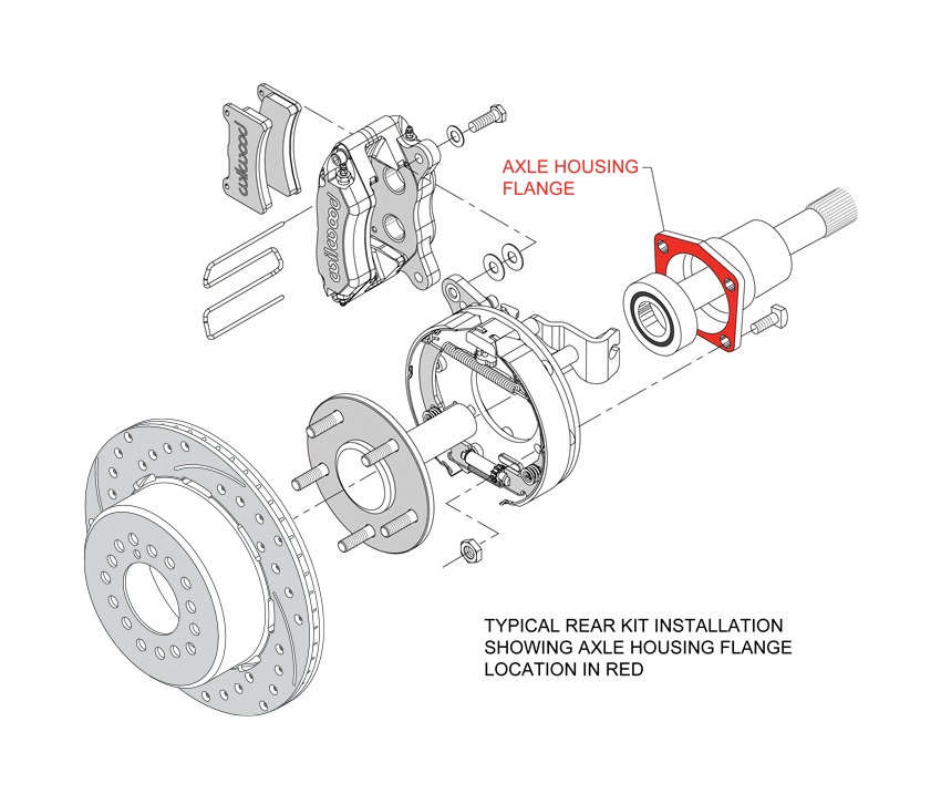 Wilwood Disc Brakes - Search by Axle Flange