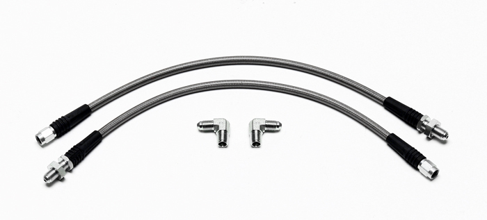 70-72/' CHEVY CAMARO; REAR BRAKE RUBBER FLEX HOSE.