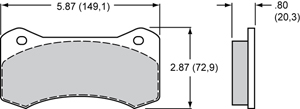 Wilwood Brake Pad Plate #6620