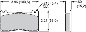 Wilwood Brake Pad Plate #7816M